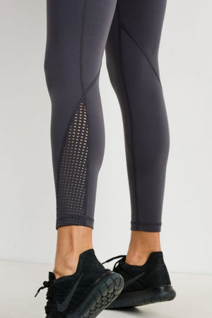 Fit For It Perforated Panel Highwaist Performance Leggings