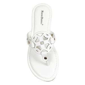 Steal Looks Sandals-White