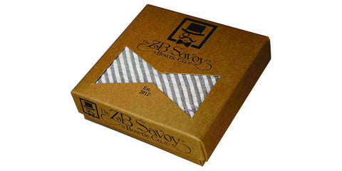 ZB Savoy Bowtie Packaging