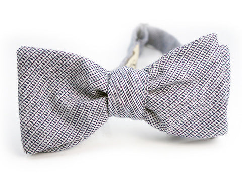 The Crystal Zircon Bow Tie