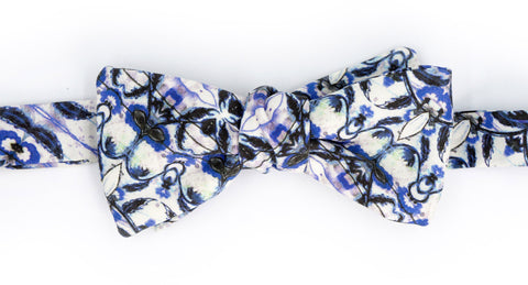 The Eskayel ® - Natale Cerulean Bow Tie