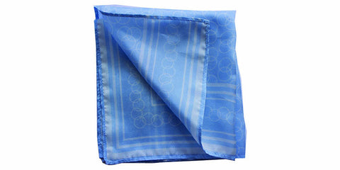 The Greek Silk Pocket Square