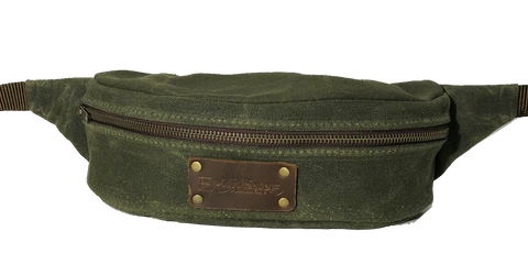 Fanny Pack in Forest Green