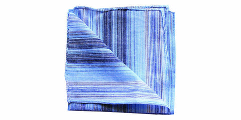 The Abstract Linen Pocket Square