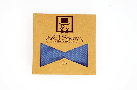 The Sapphire Bow Tie