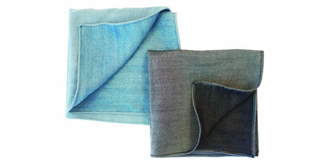 The 100% Organic - Pocket Square 2-pack