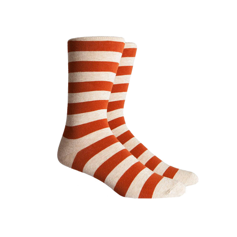 Walk On Sock in Orange