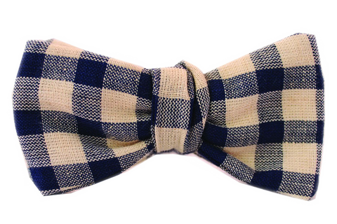 The Steinbeck Cobalt Bow Tie
