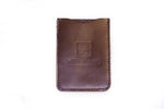 Veg-Tan Card Carrier Vertical BROWN