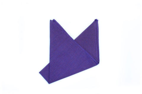 The Purple Shimmer Pocket Square