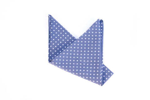 The Indigo Pocket Square