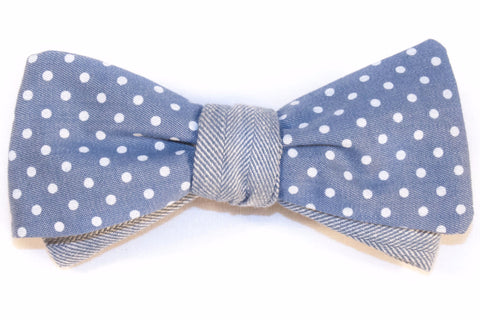The Indigo Bow Tie