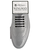Wingman No Tie Shoelaces - BLACK