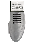 "Wingman ""WIDES"" (2"") Tieless Shoelaces - BLACK"
