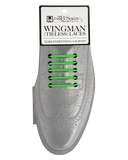 Wingman No Tie Shoelaces - GREEN