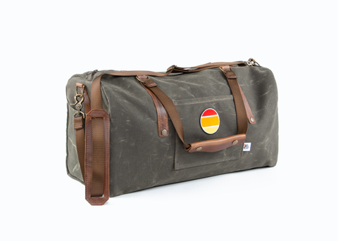 2019 Wax Canvas Weekender / Duffle Bag