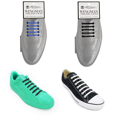 Wingman Tieless Shoe Laces - 3 Pack
