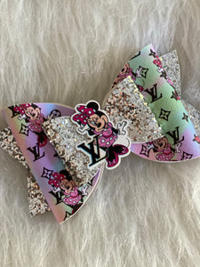 Lady mouse designer bow
