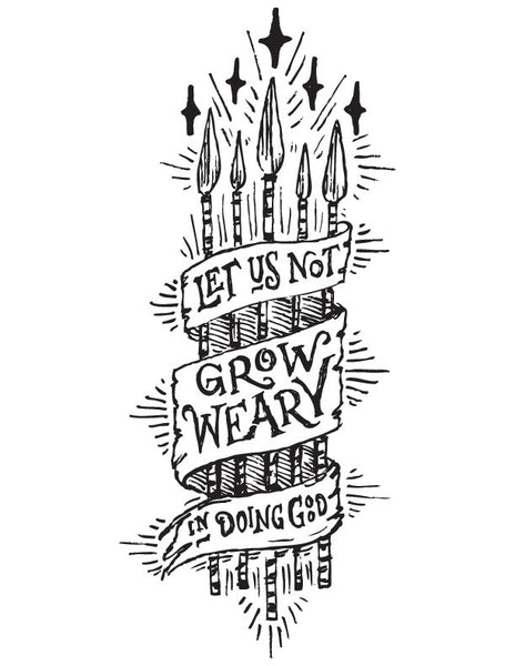 Not Grow Weary by Joseph Alessio