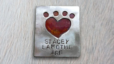 Stacey Lamothe Name Tag
