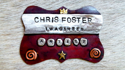 Chris Foster Name Tag