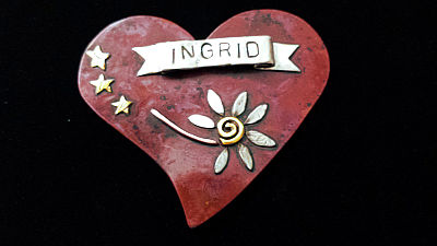 Ingrid Name Tag