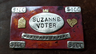 Suzanne Voter Name Tag