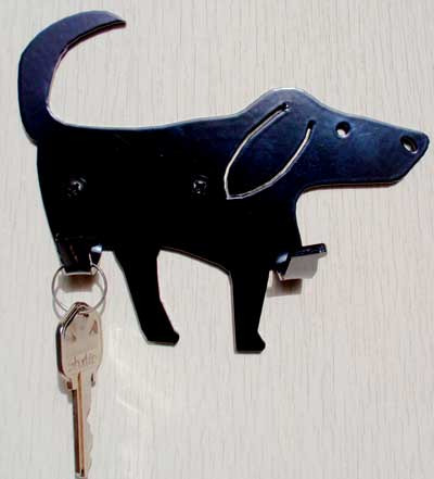 Wall Hook - Luke Dog