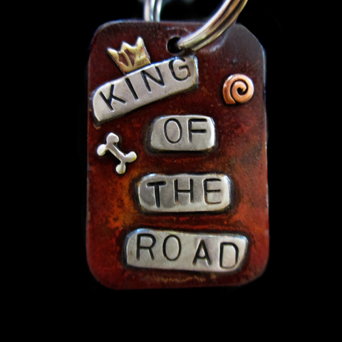 Large Dog Tag - King of the Road
