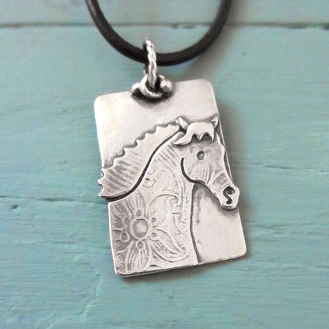 Get Snorty! Horse Necklace