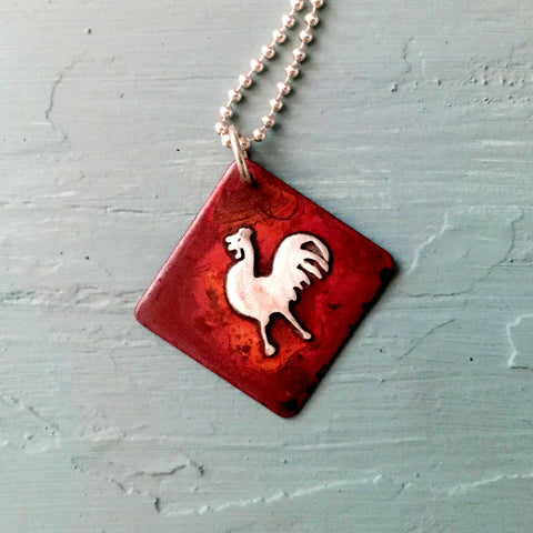 Simply Henny Penny Chicken Necklace