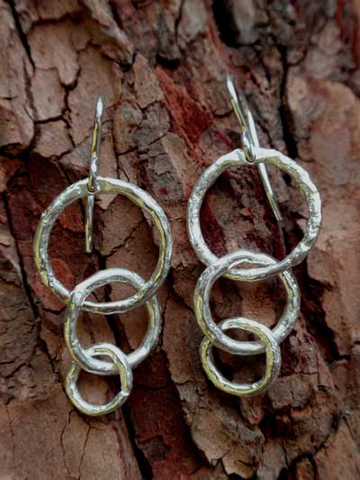 Tiny Tree-O Twig Hoop Earrings