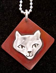 Simply Moki the Cat Necklace