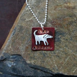 Lab Adored Dog Necklace