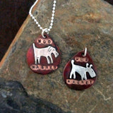 Mud Magnet Dog Tag Necklace