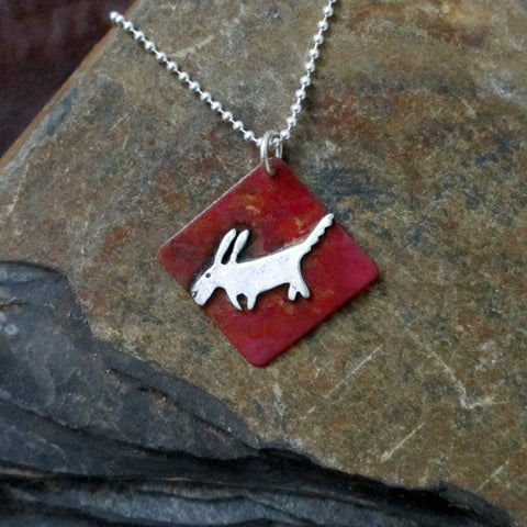 Simply Rocket Dog Necklace
