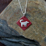 Simply Wilson Dog Necklace