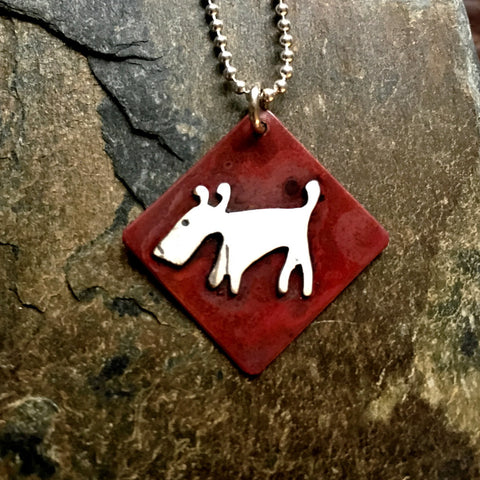 Simply Eddie Dog Necklace