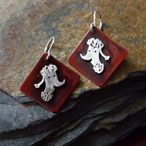 Woofy the Dog Earrings