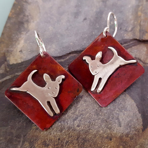 Yippee the Dog Earrings