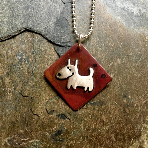 Simply Chester Dog Necklace