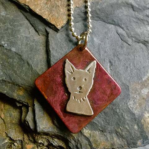 Simply Frankie Dog Necklace