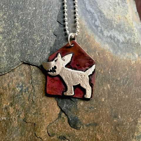 Barker Lounge! Dog Necklace