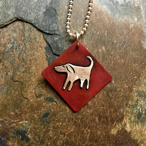 Simply Libby Dog Necklace
