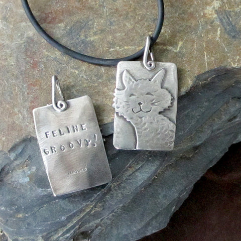 Feline Groovy! Cat Necklace