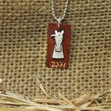 HAY! Horse Necklace