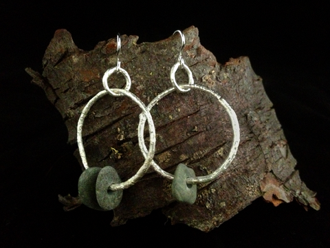 Sticks & Stones Hoop Earrings
