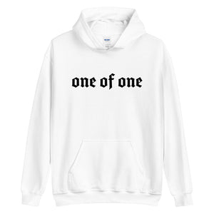 1 Of A Kind Hoodie (white)