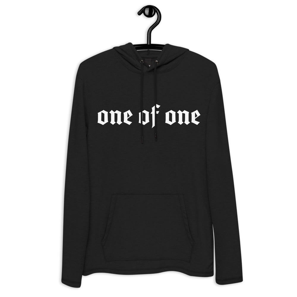1 Of A Kind Lightweight Hoodie (Black)