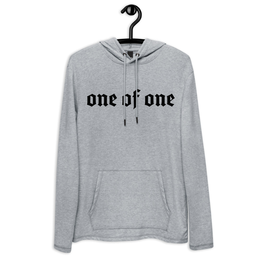 1 Of A Kind Lightweight Hoodie (Gray)